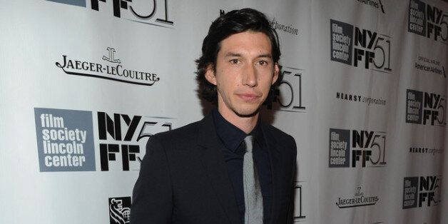 NEW YORK, NY - SEPTEMBER 28:  Actor Adam Driver attends the 'Inside Lleywn Davis' premiere during the 51st New York Film Fest
