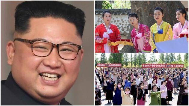 북한 김정은 국무위원장이