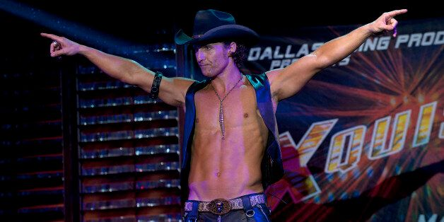"""This film image released by Warner Bros. shows Matthew McConaughey in a scene from """"Magic Mike."""" A few years ago, Matthew McC"""