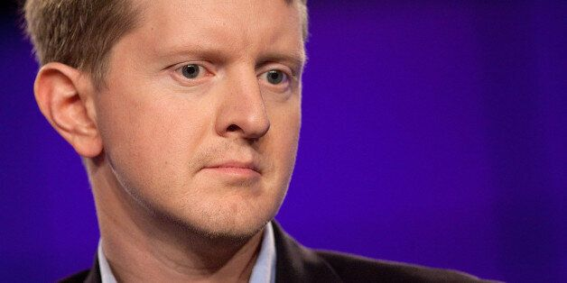 YORKTOWN HEIGHTS, NY - JANUARY 13:  Contestant Ken Jennings attends a press conference to discuss the upcoming Man V. Machine