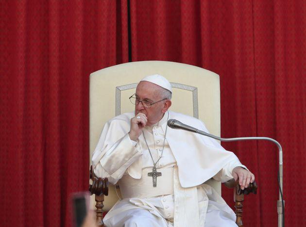 El papa Francisco, durante una