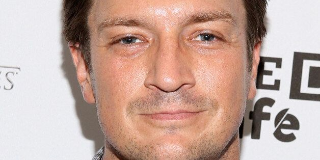 SAN DIEGO, CA - JULY 25:  Actor Nathan Fillion attends day 2 of the WIRED Cafe @ Comic Con at Omni Hotel on July 25, 2014 in