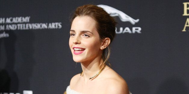BEVERLY HILLS, CA - OCTOBER 30:  Emma Watson arrives at the BAFTA Los Angeles Jaguar Britannia Awards held at The Beverly Hil