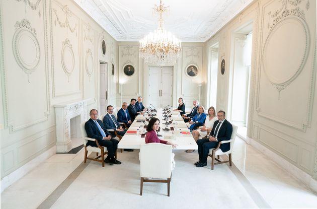El primer consejo de Gobierno de la nueva