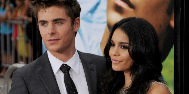 WESTWOOD, CA - JULY 20: Vanessa Hudgens and Zac Efron arrive at the World Premiere of 'Charlie St. Cloud' at the Regency Village Theatre on July 20, 2010 in Westwood, California. (Photo by Gregg DeGuire/FilmMagic)