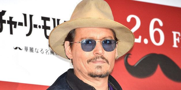 TOKYO, JAPAN - JANUARY 28: Johnny Depp attends the photo call for 'Mortdecai' at The Peninsula Tokyo on January 28, 2015 in Tokyo, Japan. (Photo by Koki Nagahama/Getty Images)