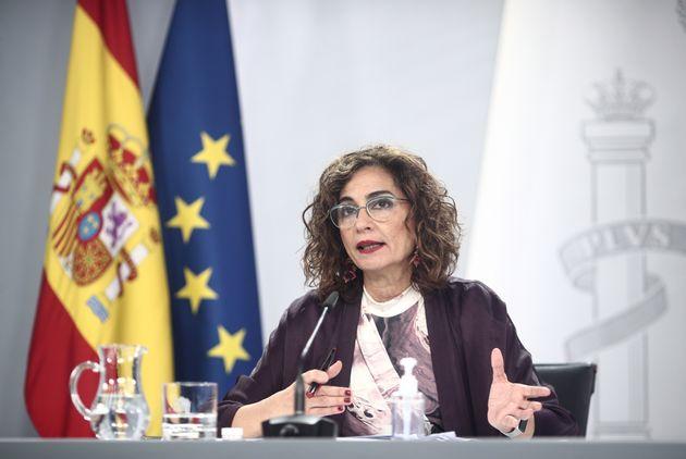 La ministra de Hacienda, María Jesús Montero, en una foto de