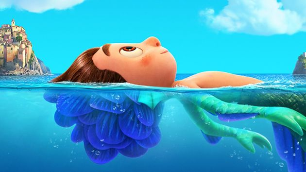 Una imagen de la película de Pixar,