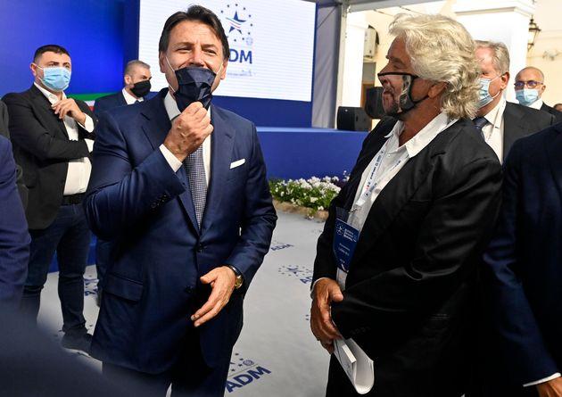 Giuseppe Conte e Beppe