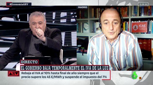 Antonio García Ferreras y Miguel Sebastián en 'Al Rojo
