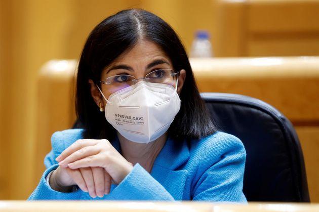 La ministra de Sanidad, Carolina