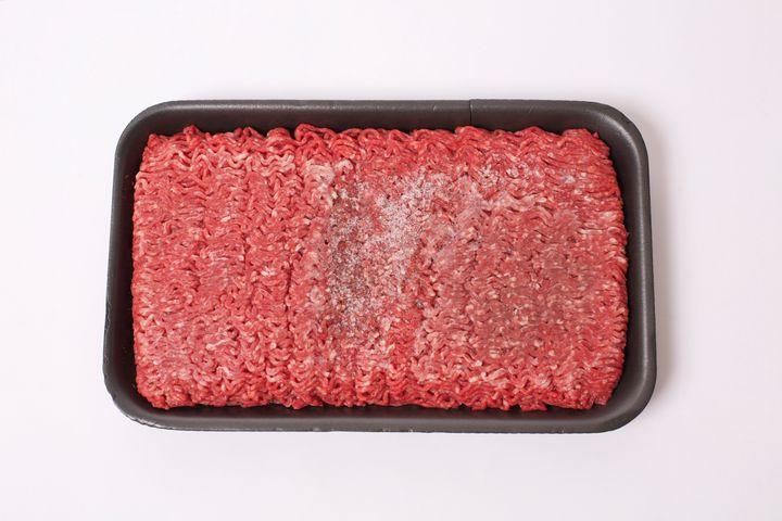 Package of Frozen Ground Beef