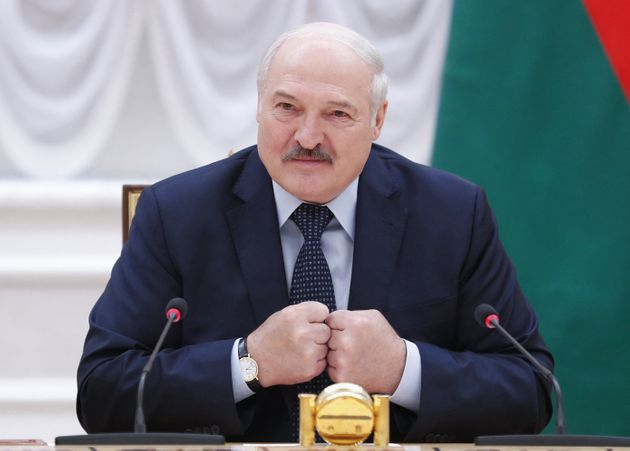 El presidente de Bielorrusia, Alexandr Lukashenko, en