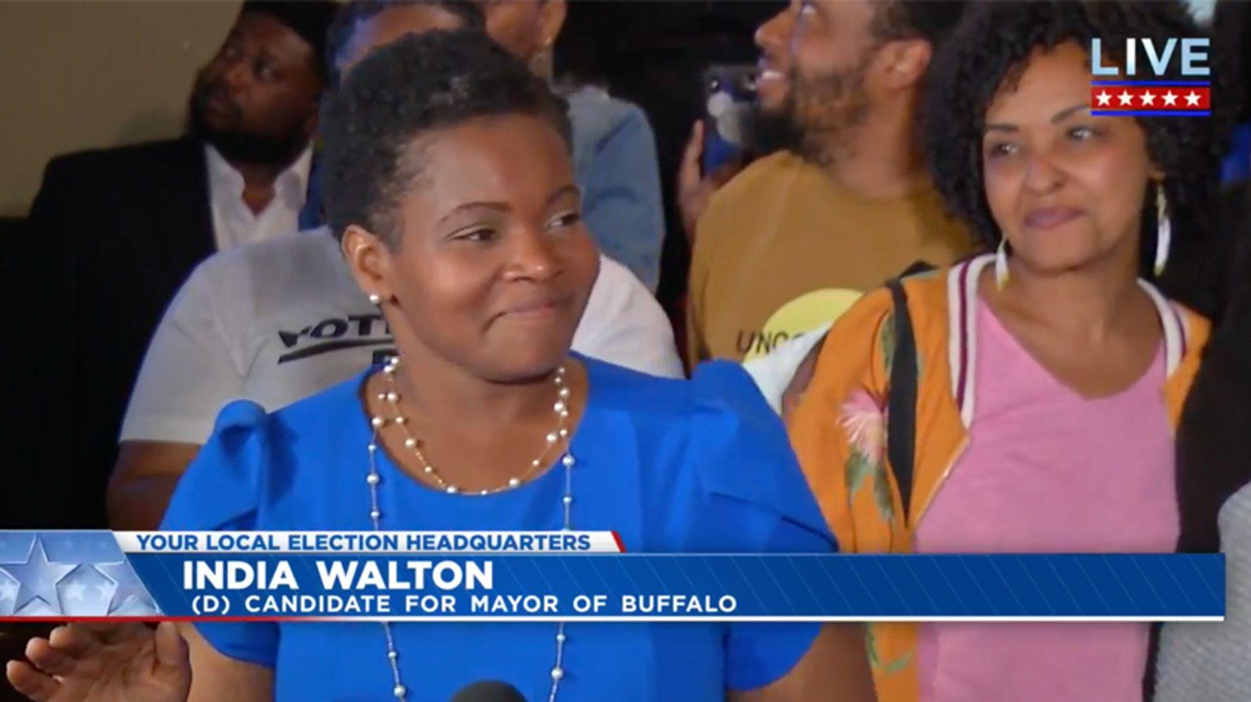India Walton Poised To Become Buffalo's First Socialist Mayor