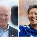 横山久美選手のカミングアウトをバイデン大統領が祝福。「あなたの勇気を誇りに思う」