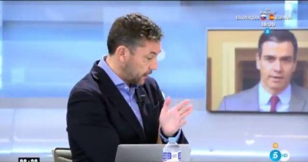 Javier Ruiz, en 'El Programa de Ana