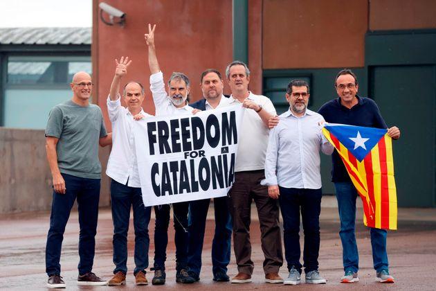 Los presos del procés han abandonado la