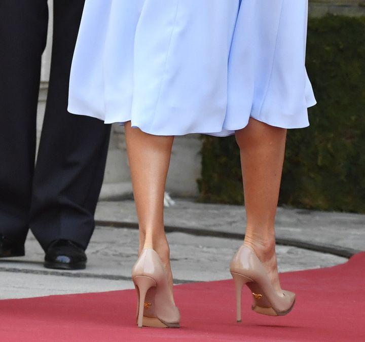 La reina Letizia, en Sevilla