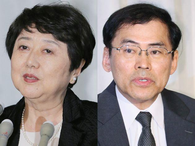 宮崎裕子裁判官、宇賀克也裁判官