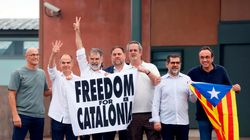Nueve frases de los nueve indultados del procés a su salida de