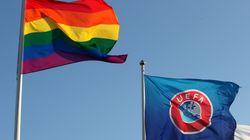 L'UEFA passe son logo en arc-en-ciel mais dit toujours non pour le stade de