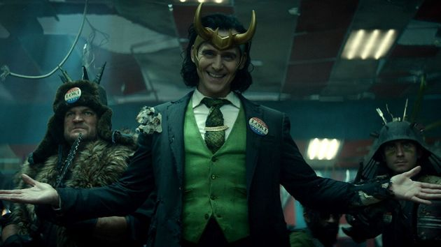 Tom Hiddleston as Loki in the Disney+ series Loki