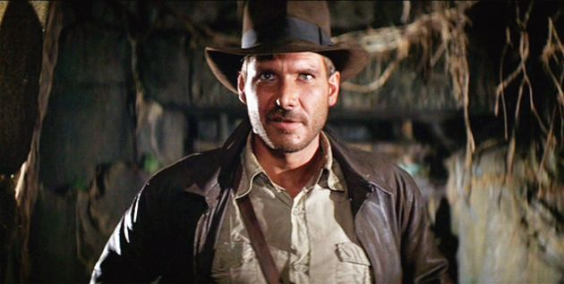 Harrison Ford in Raiders Of The Lost