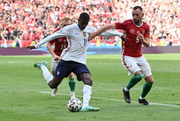 Le match France-Hongrie, le 19 juin 2021 à