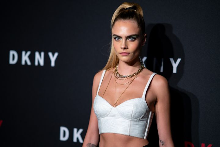 Delevingne attends the DKNY 30th anniversary party at St. Ann's Warehouse on Sept. 9, 2019 in New York City.