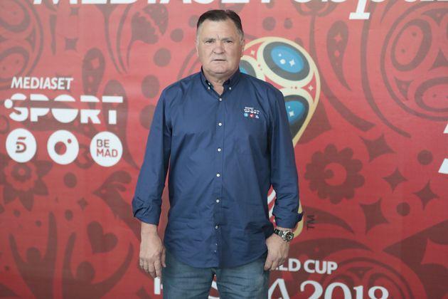 José Antonio Camacho, en el Mundial de