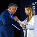 Il piano Meloni: rubare Orban a Salvini (di A.