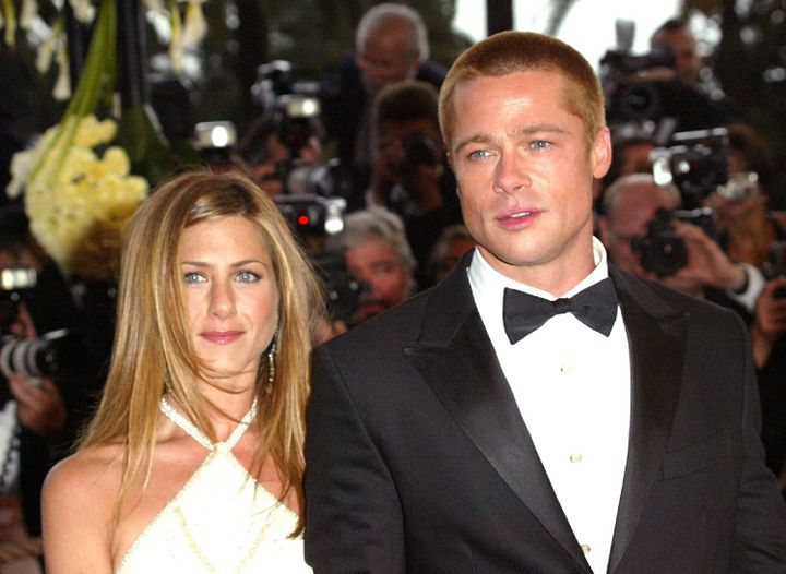 Jennifer Aniston and Brad Pitt were married between 2000 and 2005.