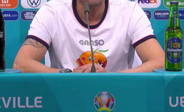 Luis Enrique comparece en rueda de prensa tras el
