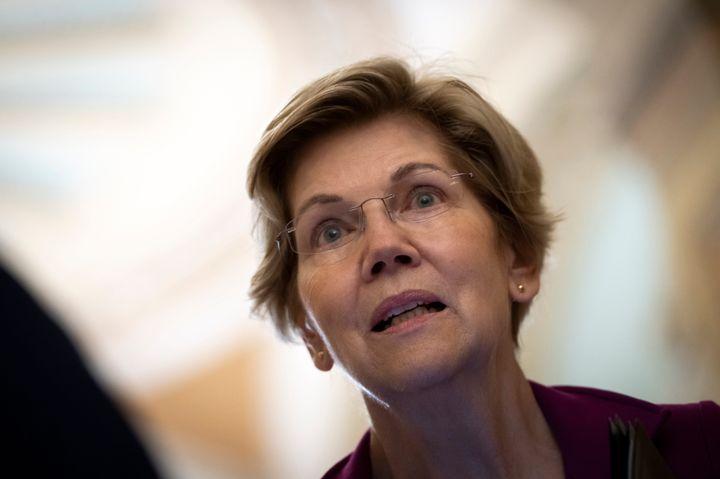 Sen. Elizabeth Warren (D-Mass.) and Senate Majority Leader Chuck Schumer (D-N.Y.) led the letter asking President Joe Biden t