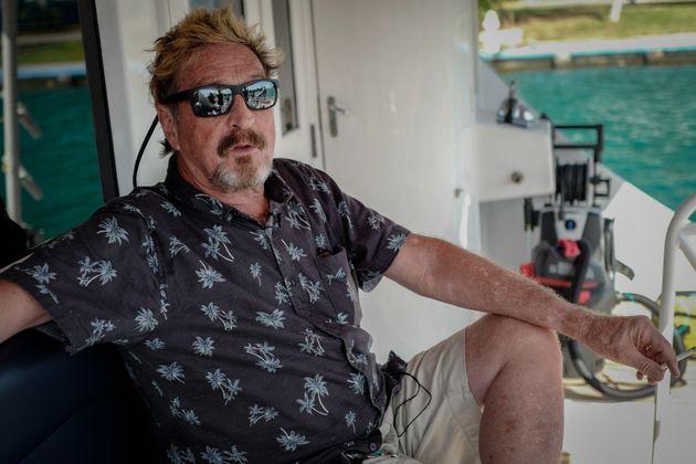 John McAfee, ici en juillet 2019 à La Havane à