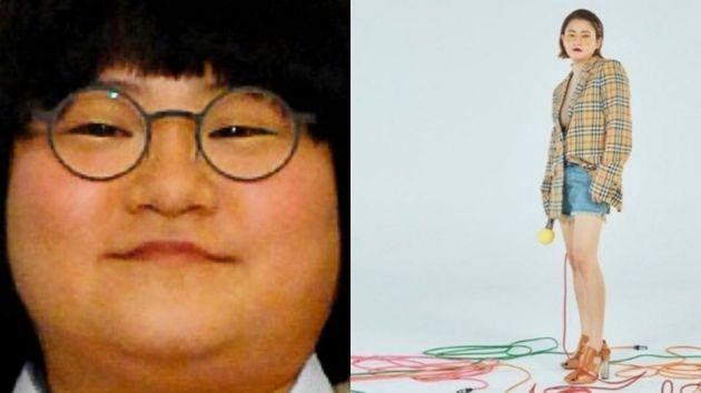 김신영 다이어트 전후