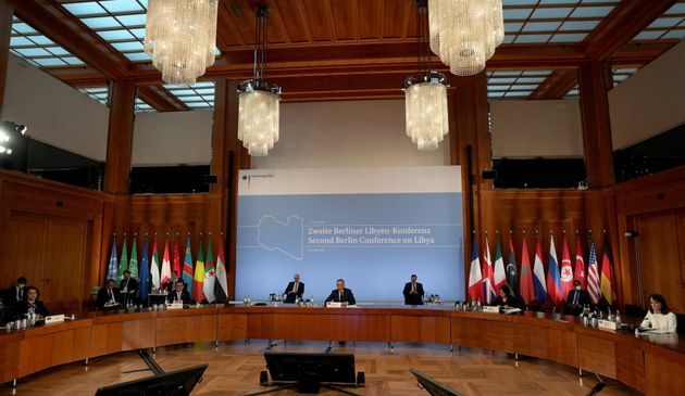 'Second Berlin Conference on Libya' at the foreign office in Berlin, Germany, June 23, 2021. Michael...