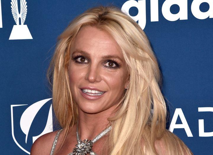 Britney Spears en la entrega de los premios GLAAD de 2018.
