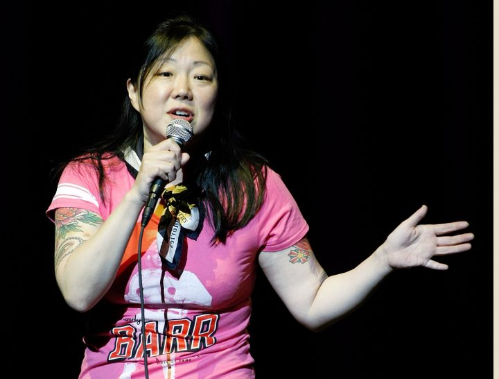 LAS VEGAS - SEPTEMBER 17:  Comedian/actress Margaret Cho performs at The Pearl concert theater at the Palms Casino Resort Sep
