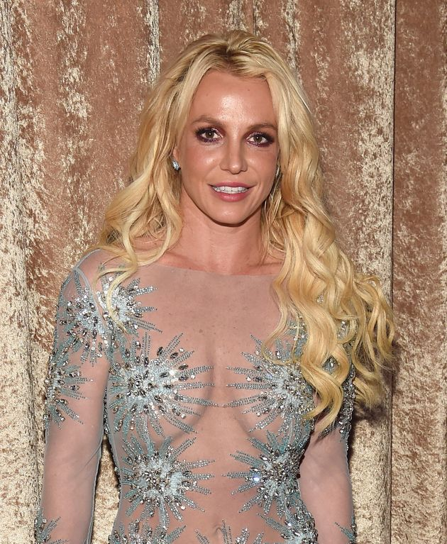 Britney Spears pictured in