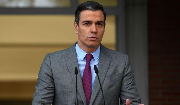 Pedro Sánchez, presidente del Gobierno, anuncia los indultos a los presos del