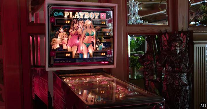 Inspiración 'Playboy'