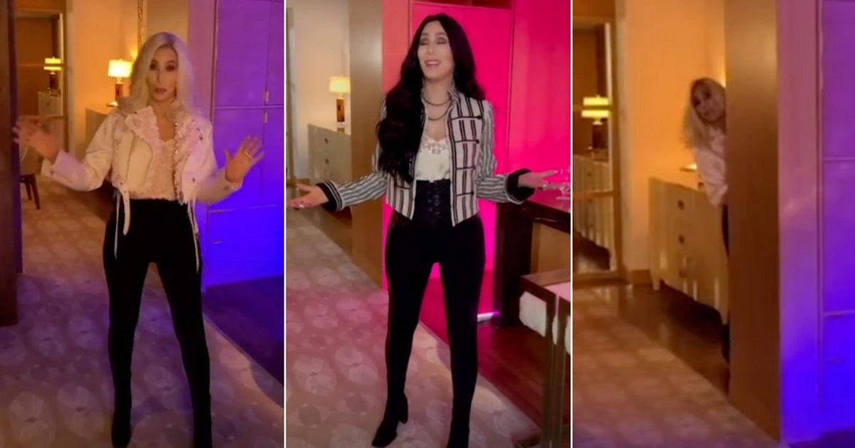 Cher Makes Her Long-Awaited TikTok Debut And It's Obviously A Camp Work Of Art