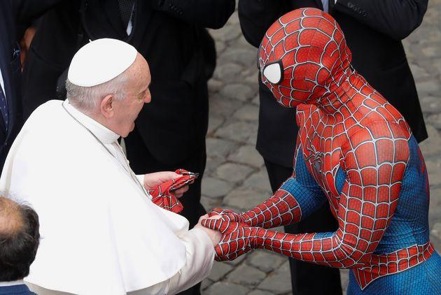 Συνάντηση του Πάπα με τον Σπάιντερμαν στο