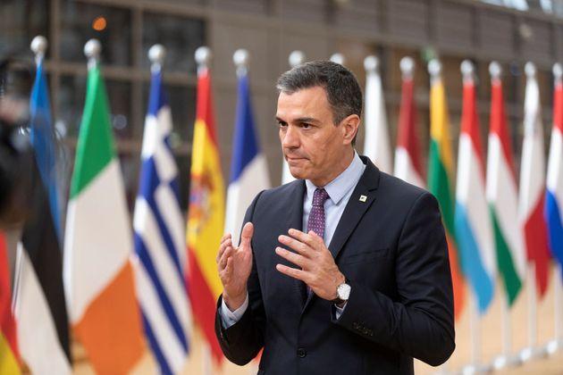 Pedro Sánchez, en