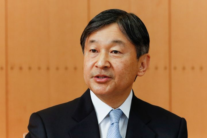 TOKYO, JAPAN - FEBRUARY 21: Japan's Emperor Naruhito speaks during a press conference on the occasion of the Emperor's birthd