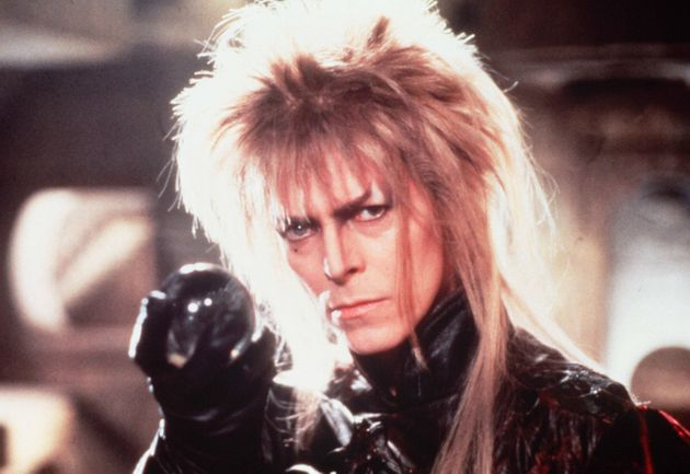 David Bowie in the film