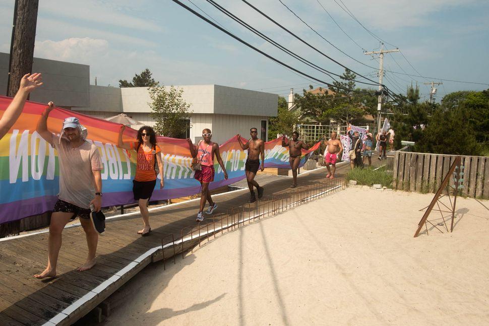 The Progress Pride Parade.