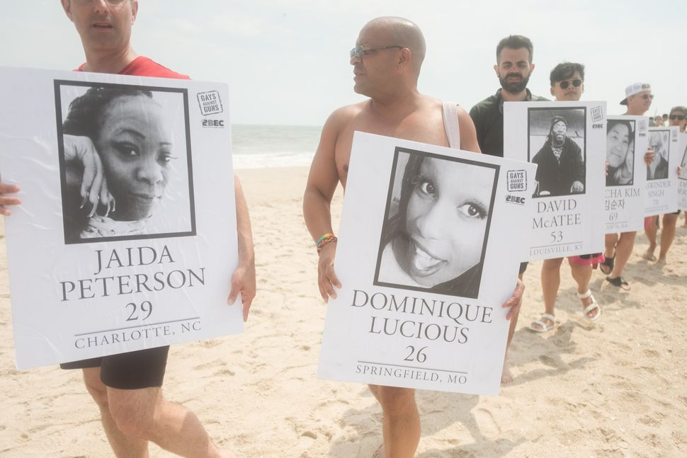 The Beach Solidarity March.