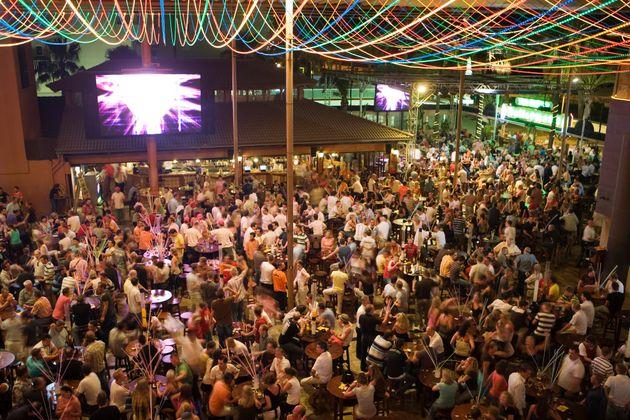 Une fête à Majorque dans les Baléares (image